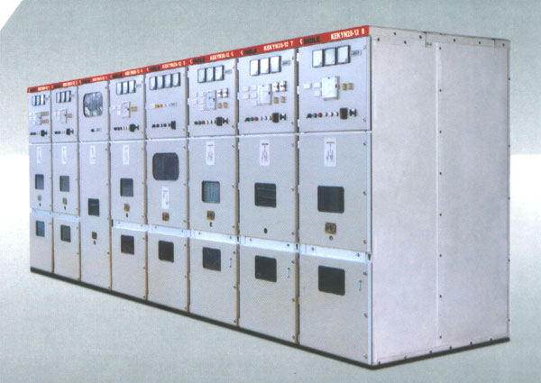 metal armored moving switchgear